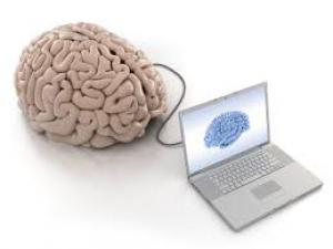 brain and computer